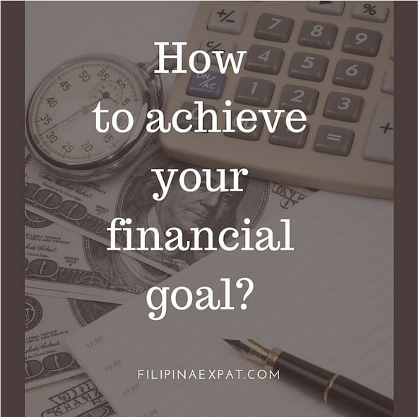 How to achieve your financial goal?
