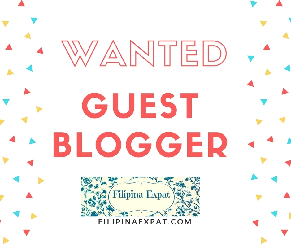 Wanted: Blogger for a day!   Filipina Expat